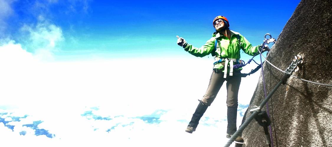 東南亞最高峰─馬來西亞。神山