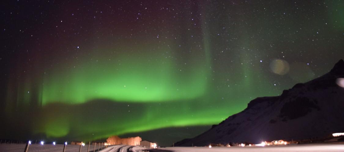 歐若拉之旅─冰島極光
