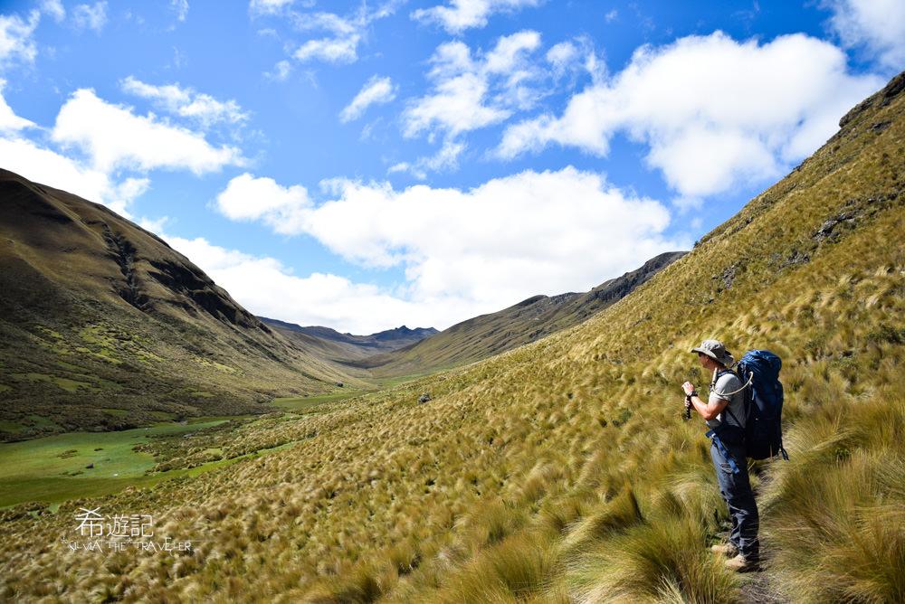 厄瓜多印加古道 Ingapirca Inca Trail Ecuador Trekking