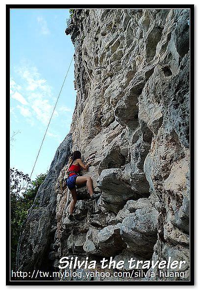 [泰國‧批批島] 爬爬爬之戶外攀岩初體驗
